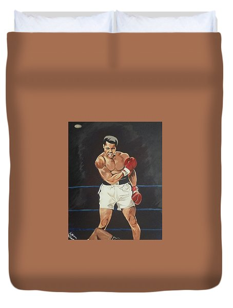 G.o.a.t. Duvet Cover by Autumn Leaves Art