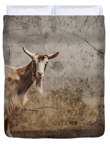 London, England - Goat Duvet Cover