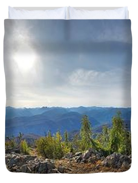 Goat Peak Duvet Cover