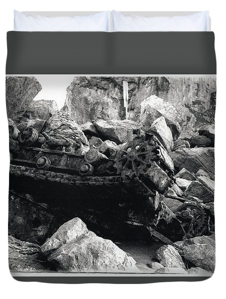 Goat Rock Tractor Jenner California Duvet Cover