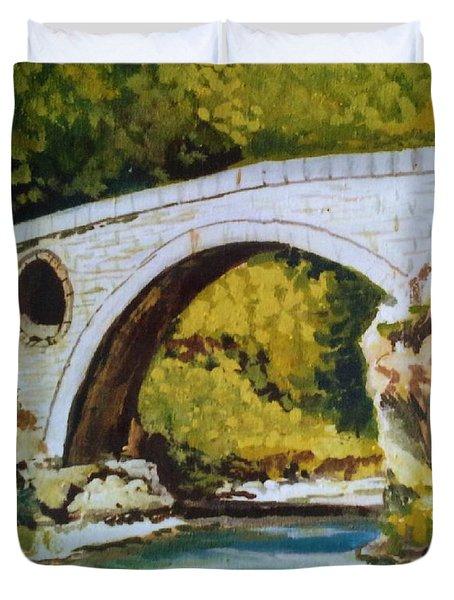 Goat's Bridge Duvet Cover