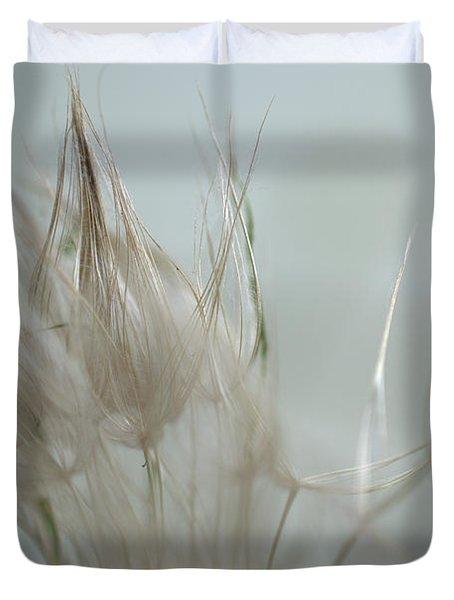 Goatsbeard Seedhead Duvet Cover
