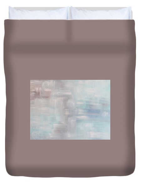 Gobi Desert Gale And Oasis Duvet Cover