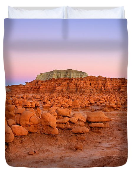 Goblin Glow Duvet Cover by Mike  Dawson