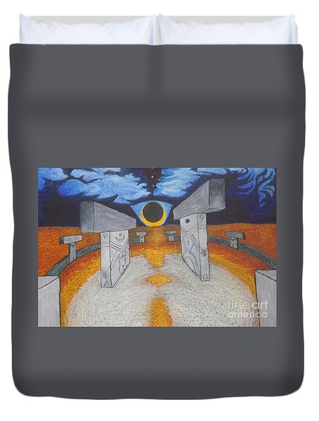 Goblitechi Vision Eclipse Duvet Cover
