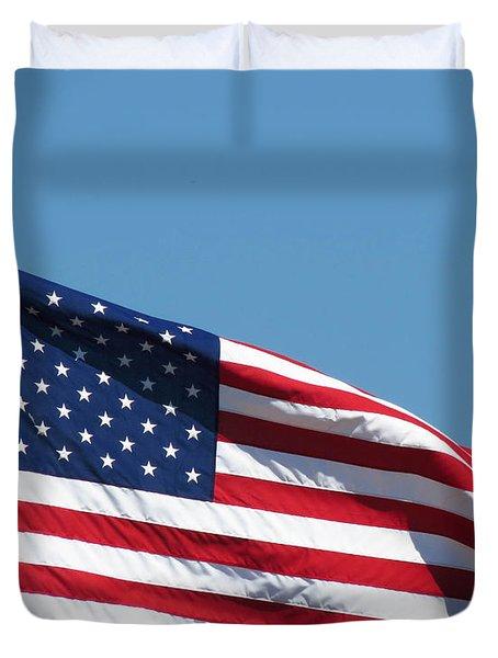 God Bless The U.s. Duvet Cover