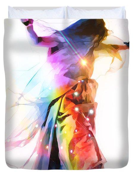 God Colors Duvet Cover