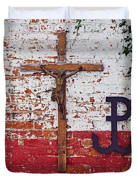 God, Honour, Fatherland Duvet Cover