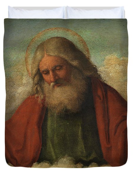 God The Father Duvet Cover