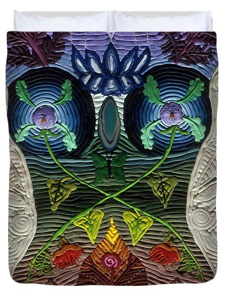 Godbody Duvet Cover by Arla Patch