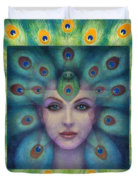 Goddess Isis Visions Duvet Cover
