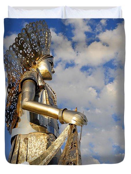 Goddess Isthmus Duvet Cover by Skip Hunt