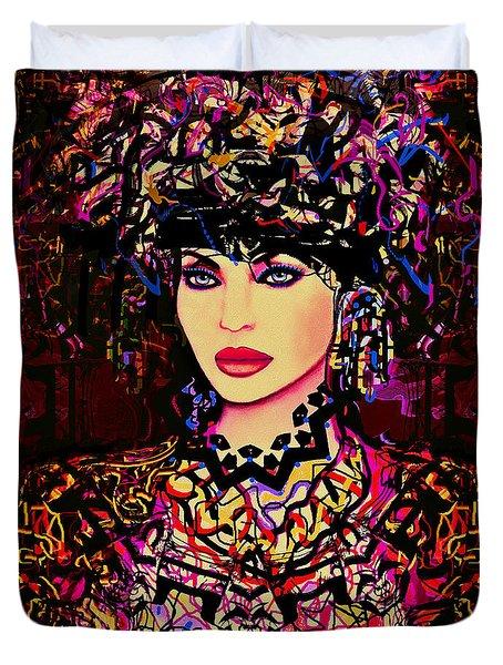Goddess Of Beauty Duvet Cover