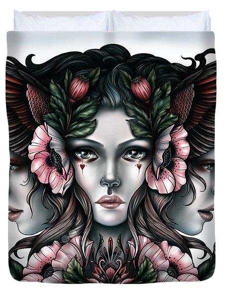 Goddess Of Magic Duvet Cover