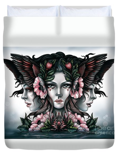 Goddess Of Magic Duvet Cover