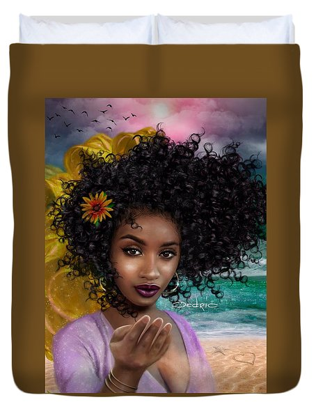 Goddess Oshun Duvet Cover