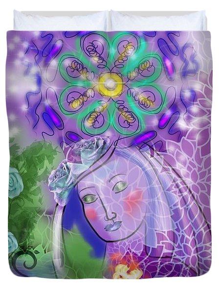 Goddess Within Duvet Cover