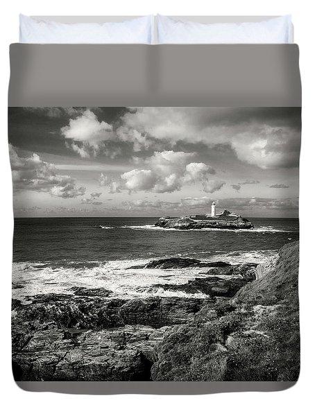 Godrevy Lighthouse 1 Duvet Cover