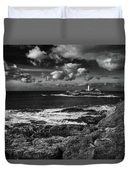 Godrevy Lighthouse 2 Duvet Cover
