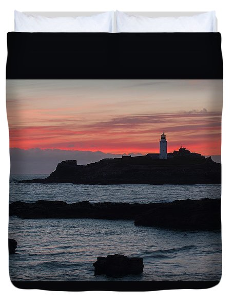 Godrevy Lighthouse Duvet Cover