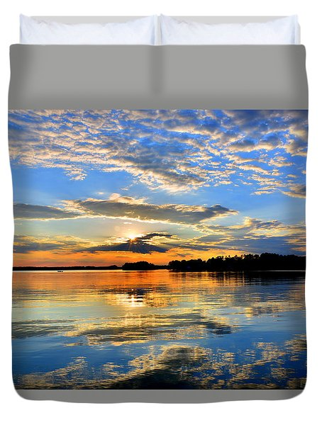 God's Glory Duvet Cover