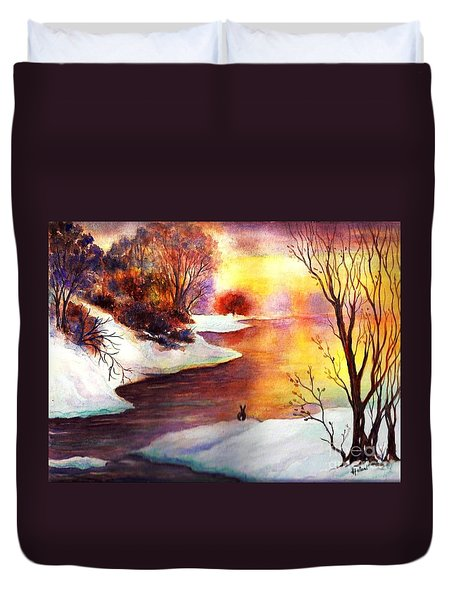 God's Love Letter Duvet Cover