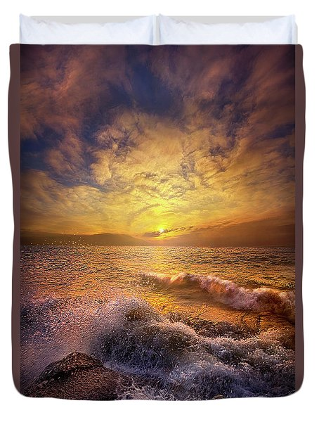 Duvet Cover featuring the photograph Gods Natural Cure by Phil Koch