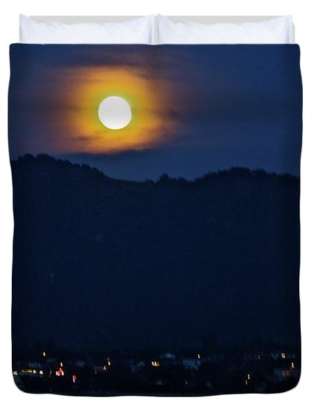 God's Nightlight Duvet Cover