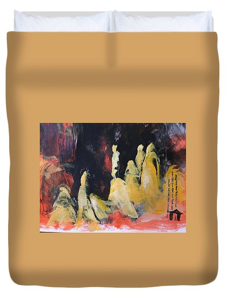 Gods Of The Mountain Duvet Cover