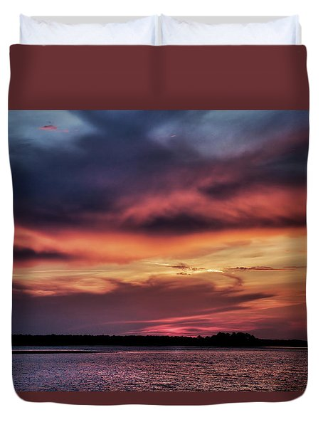 God's Paintbrush Duvet Cover