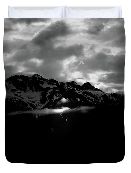 God's Spotlight Duvet Cover