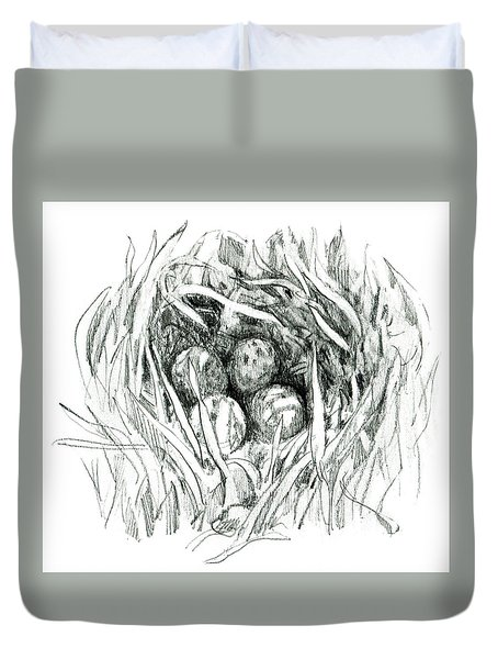 Godwit Nest Duvet Cover