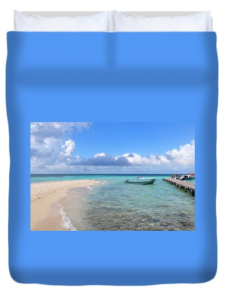 Goff's Caye Island Duvet Cover