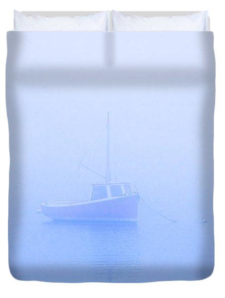 Gog Boat Duvet Cover by John Greim