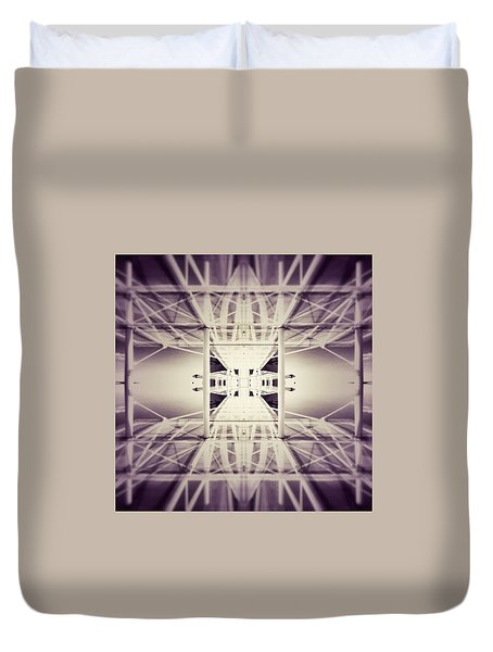 Going Down Duvet Cover by Jorge Ferreira