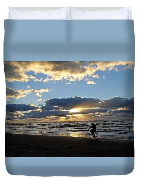 Going Fishin' Duvet Cover