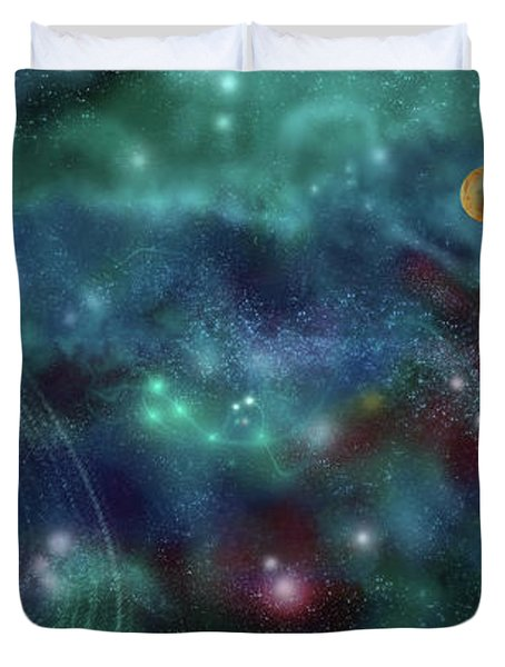 Going Further Duvet Cover