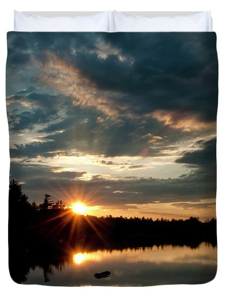 Going Going Duvet Cover by Greg Fortier