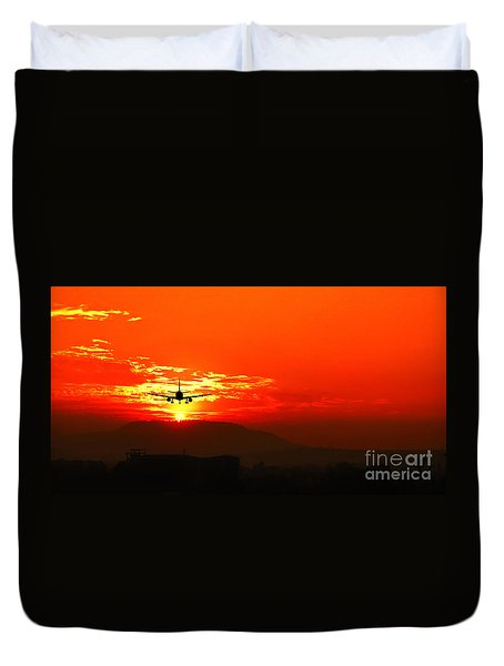 Going Home Duvet Cover by Charuhas Images