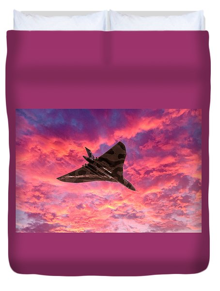 Going Out In A Blaze Of Glory Duvet Cover
