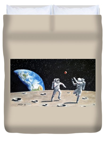 Going Way Out Duvet Cover