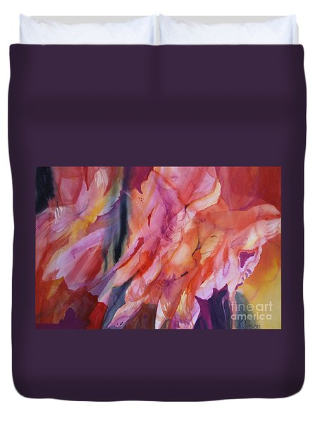Going With The Flow Duvet Cover