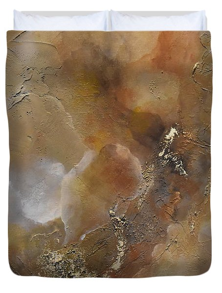 Gold Bliss Duvet Cover by Tamara Bettencourt