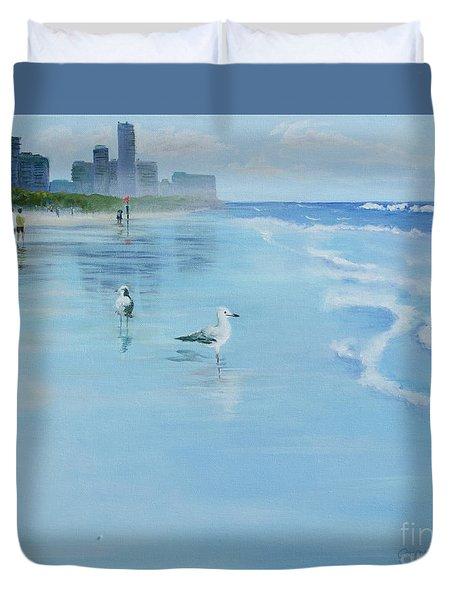 Gold Coast Australia, Duvet Cover