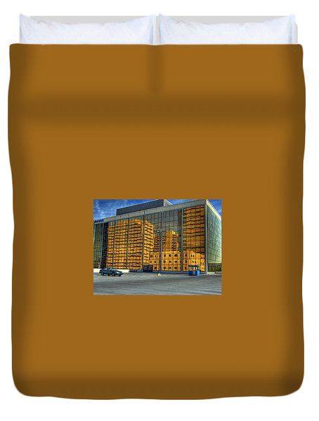 Gold In The Bank Duvet Cover