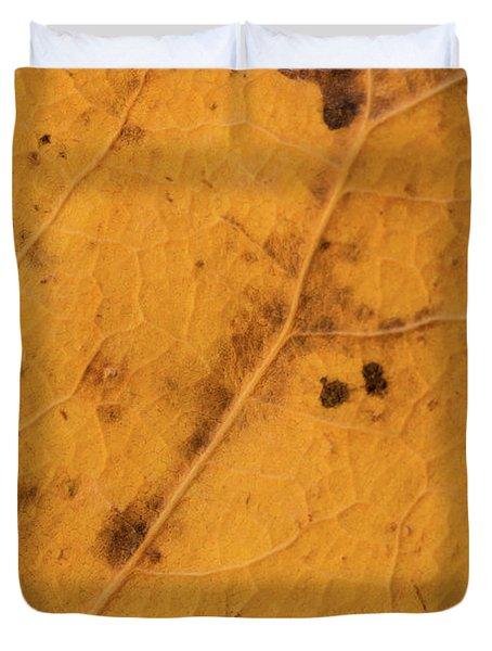 Gold Leaf Detail Duvet Cover