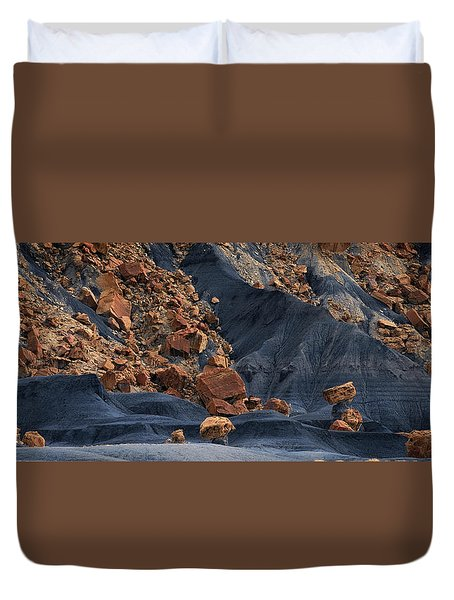 Duvet Cover featuring the photograph Gold Rush by Edgars Erglis
