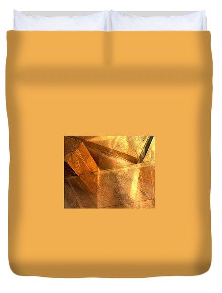 Gold Still Duvet Cover