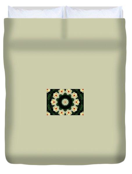 Golden Antennae Duvet Cover
