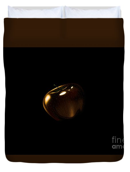 Golden Apple Duvet Cover
